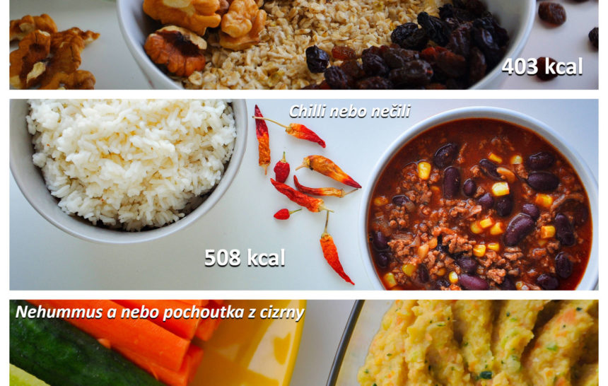 Fitness jídelníček zdravé recepty snídaně oběd večeře