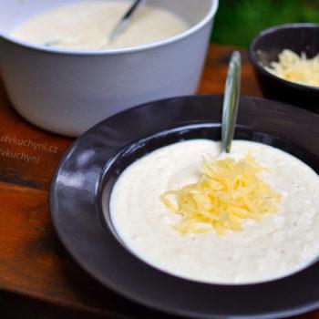 krémová polévka, kubánský recept, tradiční, oběd, večeře, recept, low carb