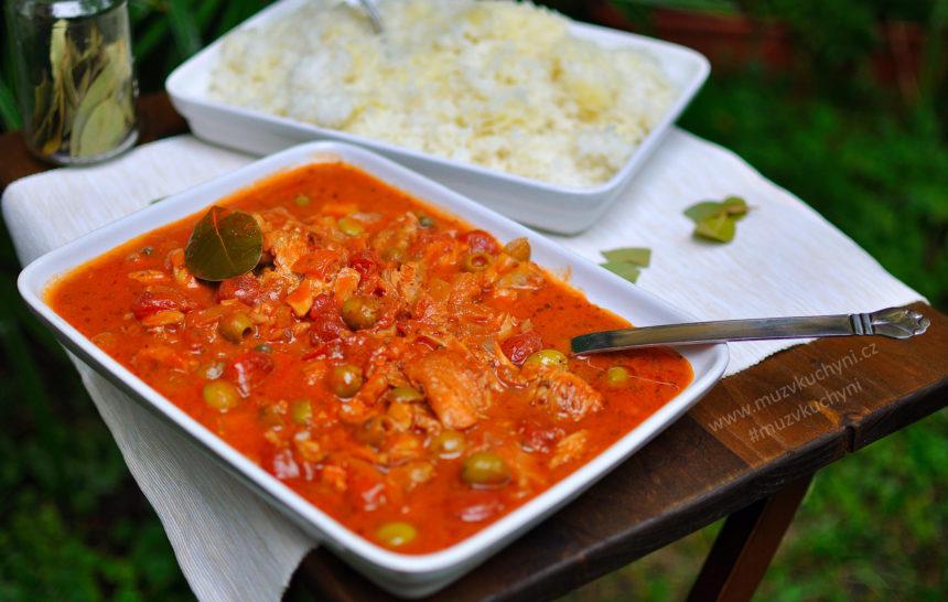 treska, ryba, recept, kubánsky recept, kubánske recepty, obed, večera, rýže
