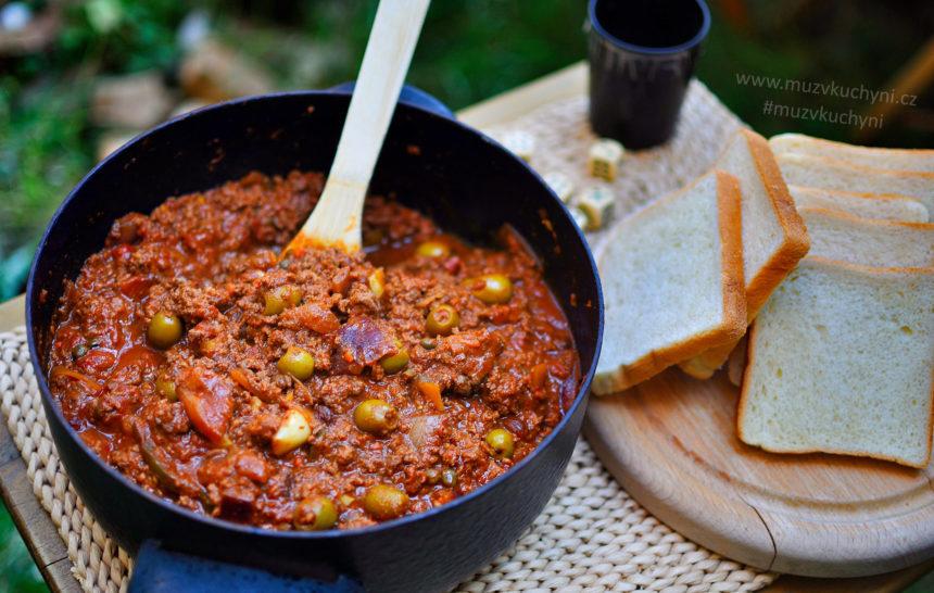 Picadillo, kubánský recept, kubánské recept, oběd, večeře, jednoduchý, rychlý, chutný
