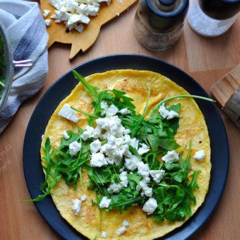omeleta, snídaně, bez mouky, recept, víkend, sobota, nedele, zdravý, chutný, jednoduchý, rychlý