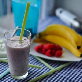 malinový, milkshake, recept, smoothie, malinové, snídaně, večeře, po cvičení, jednoduchý, rychlý, zdravý