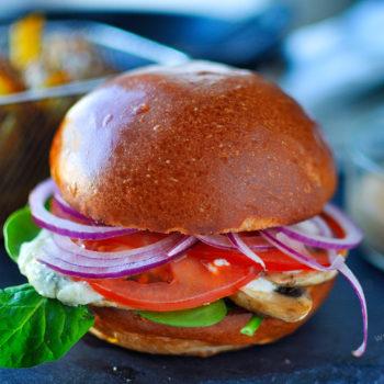 vegetarian, vegan, veggie, burger, recept, na grill