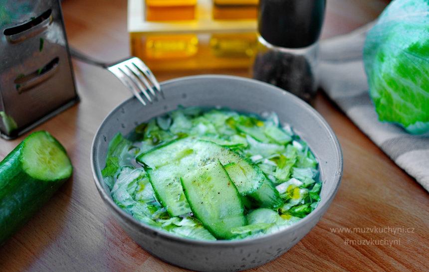 salát, příloha, sladkokyselý nálev, recept