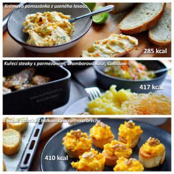 snídaně, oběd, večeře, recepty, fitness jídelníček