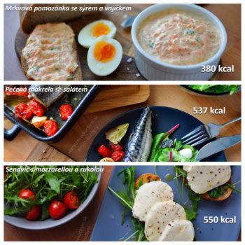 fitness jídelníček