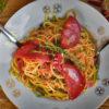 Špagety s chorizem