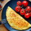 Chilli-omeleta se sýrem